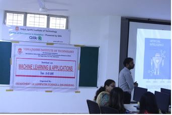 AI & Machine Learning Motivation Seminar Session at Vidya Jyothi Institute of Technology
