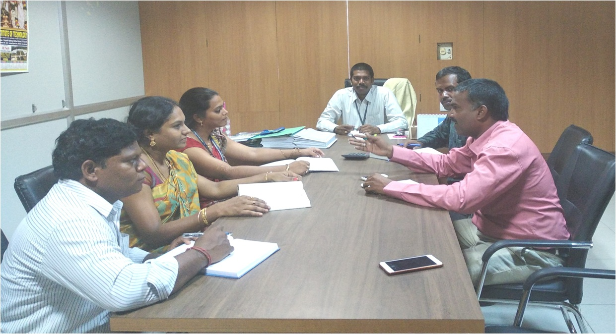 Research Group Meeting of VEMU Institute of Technology