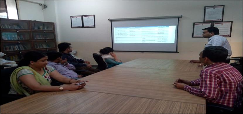 Research Group Meeting of ABES Engineering College