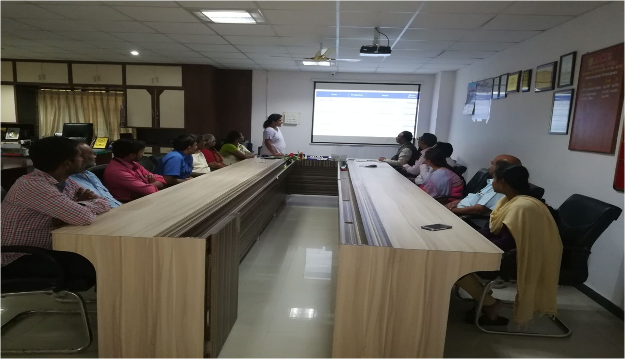 Research Group Meeting of ACE Engineering College