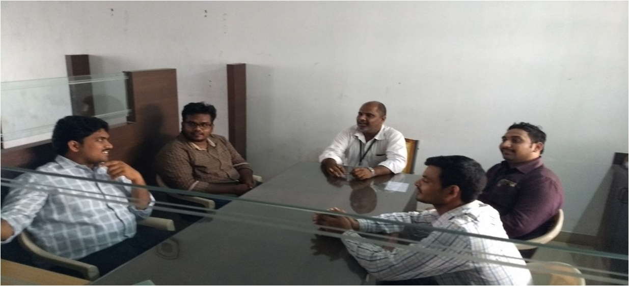Research Group Meeting of Aditya Engineering College