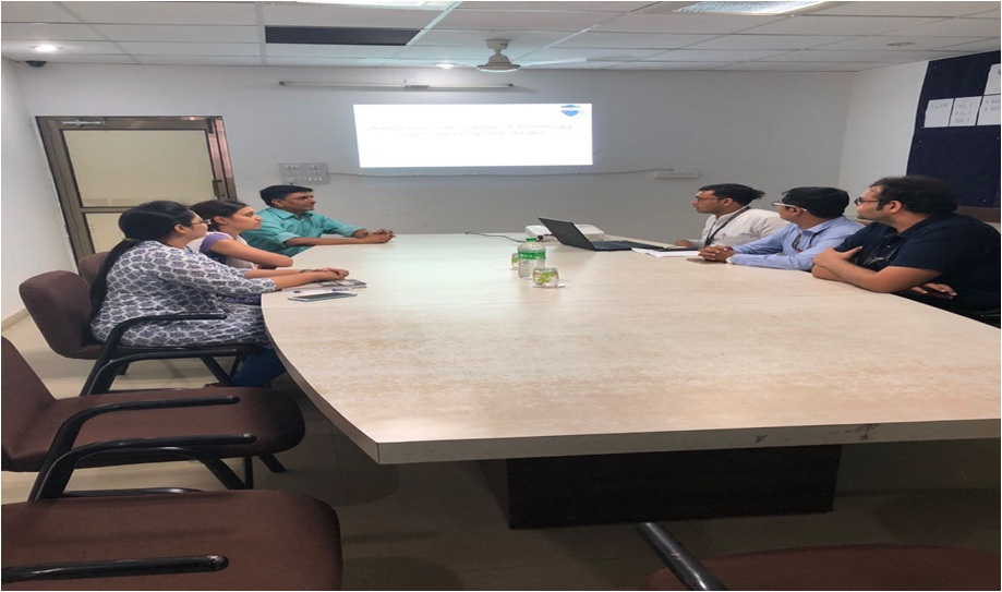 esearch Group Meeting of Aditya Silver Oak Institute of Technology