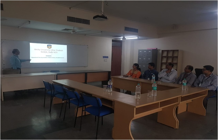 Research Group Meeting of Amity University