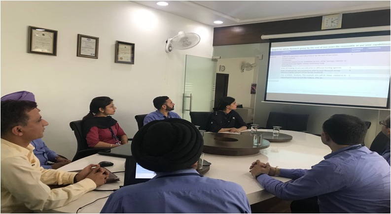 Research Group Meeting of Amritsar College Of Engineering & Technology