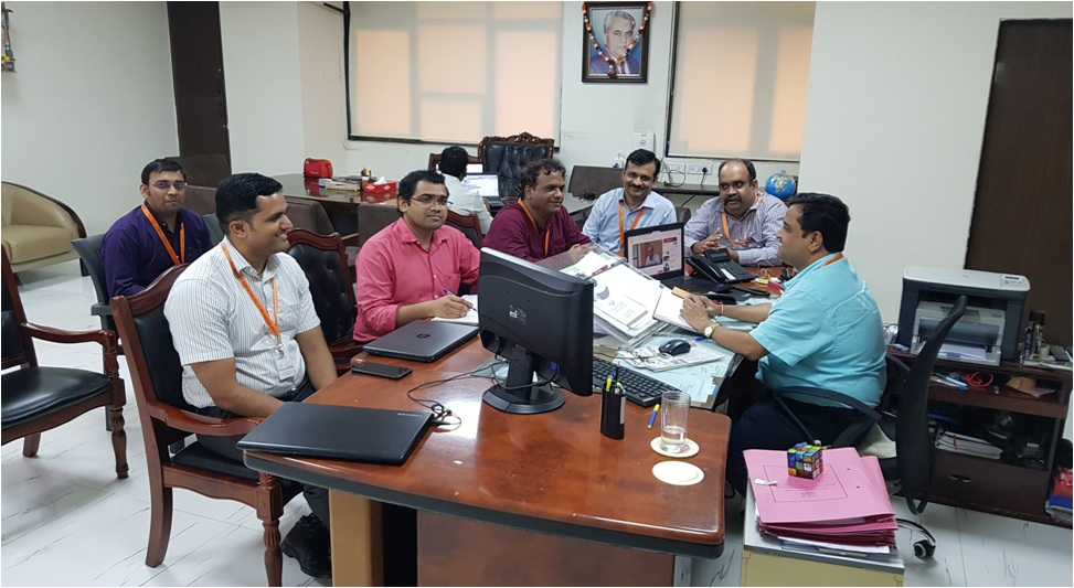 Research Group Meeting of A P Shah Institute of Technology