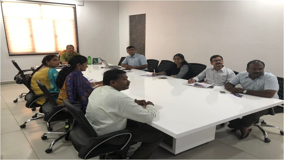 Research Group Meeting of CMR Technical Campus