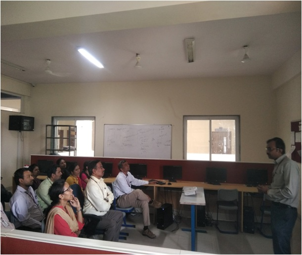 Research Group Meeting of Dr D Y Patil School of Engineering & Technology