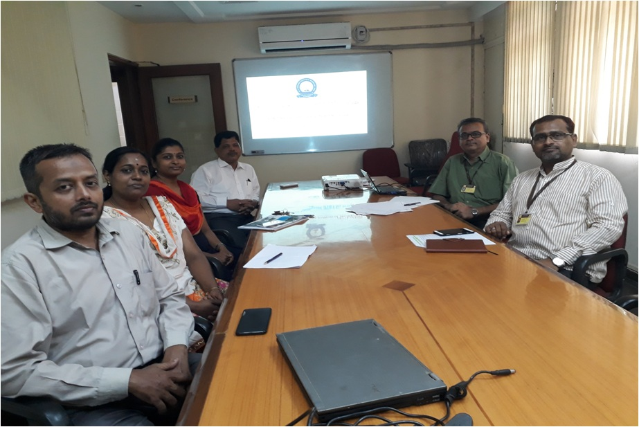 Research Group Meeting of Fr. Conceicao Rodrigues Institute of Engineering