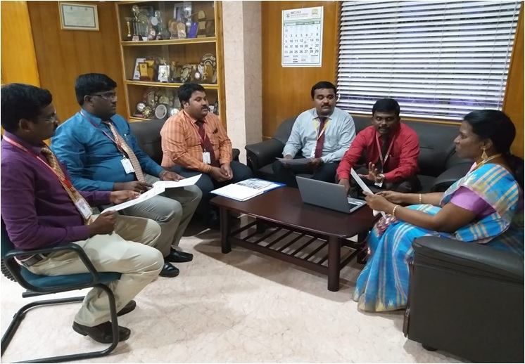 Research Group Meeting of Francis Xavier Engineering College