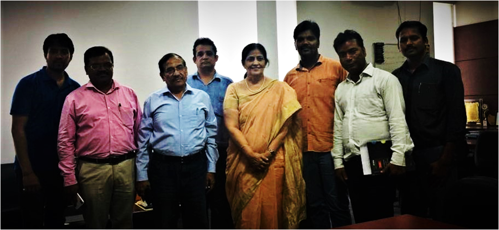 Research Group Meeting of Galgotias University