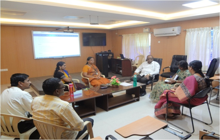 Research Group Meeting of The Gandhigram Rural Institute