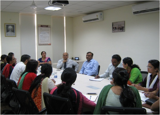 Research Group Meeting of G H Raisoni Institute of Engineering & Technology
