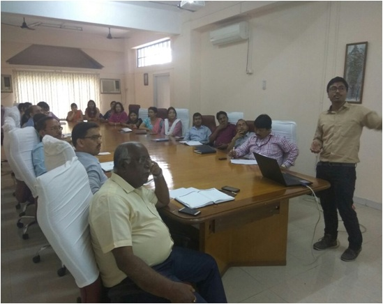 Research Group Meeting of Girijananda Chowdhury Institute of Management and Technology