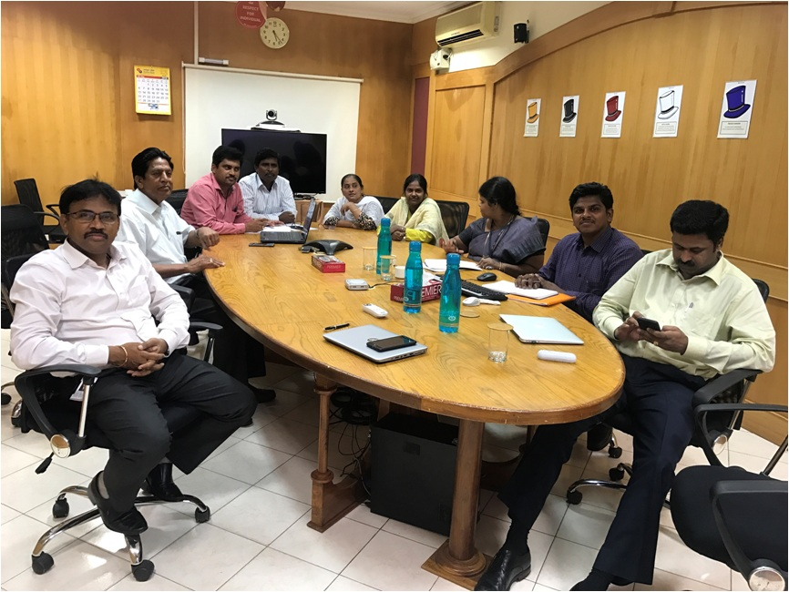 Research Group Meeting of GMR Institute of Technology