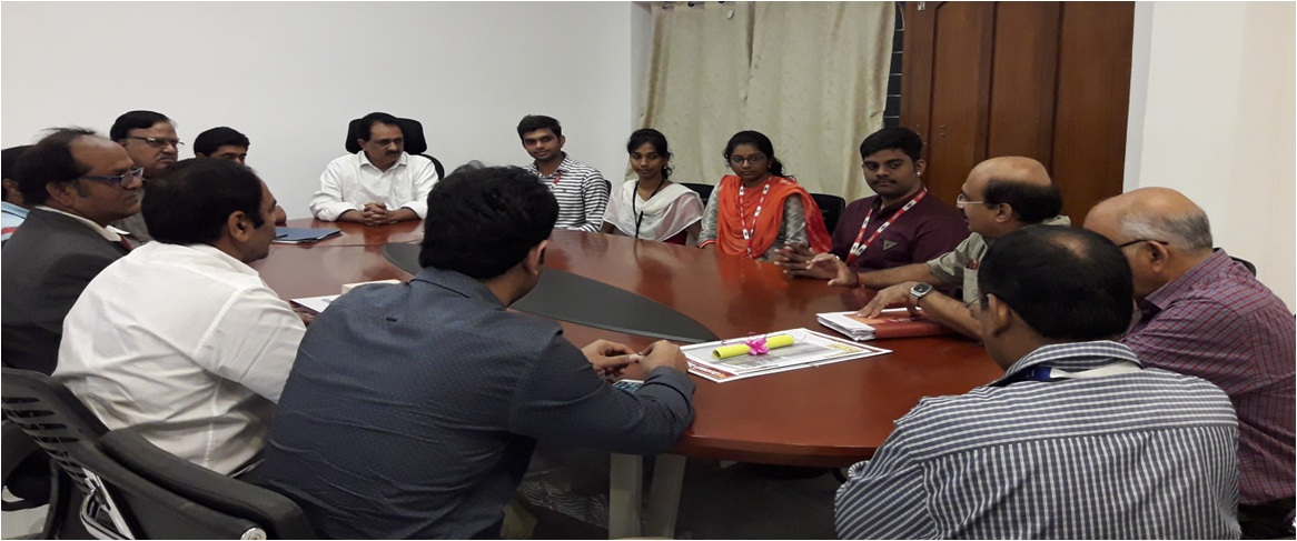 Research Group Meeting of Godavari Institute of Engineering & Technology