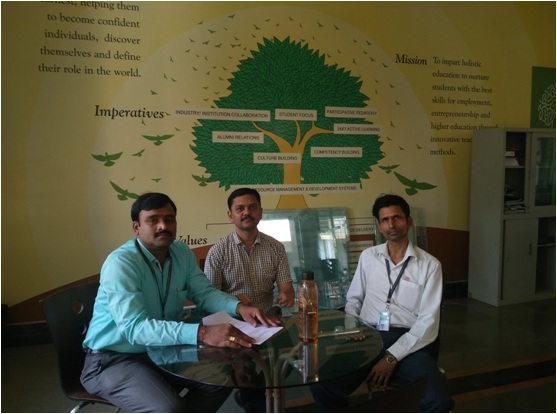Research Group Meeting of Hyderabad Institute of Technology and Management