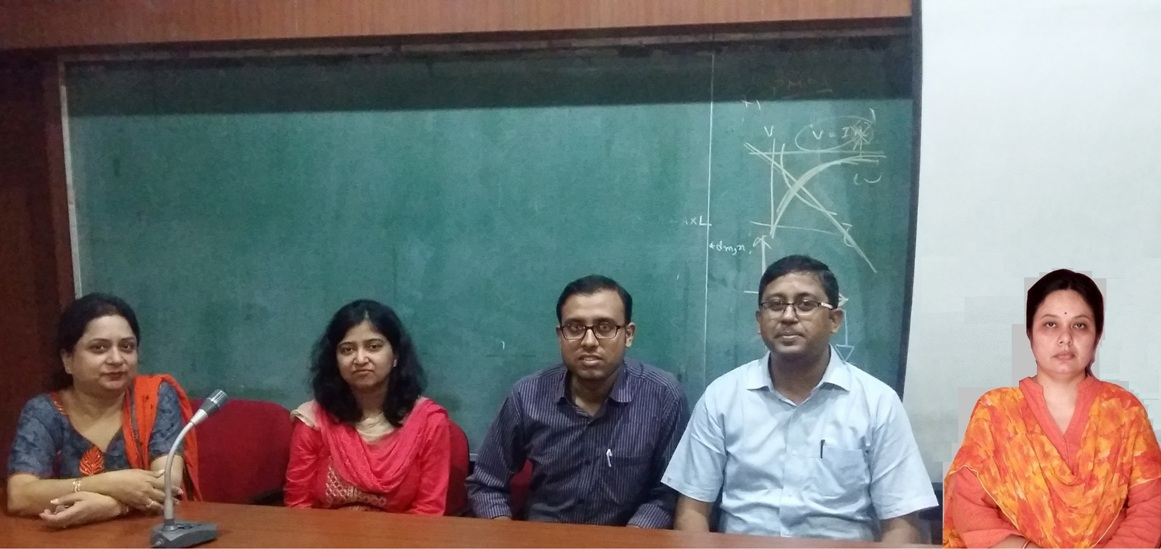 Research Group Meeting of Institute of Engineering & Management