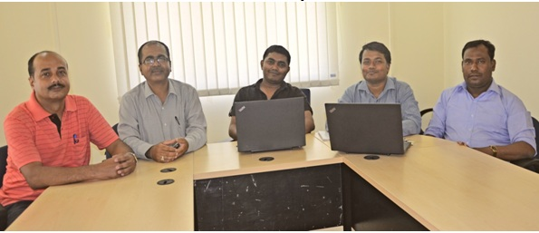 Research Group Meeting of Indian Institute of Information Technology