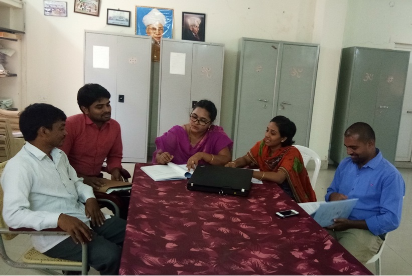 Research Group Meeting of Jawaharlal Nehru Technological University Anantapur College of Engg