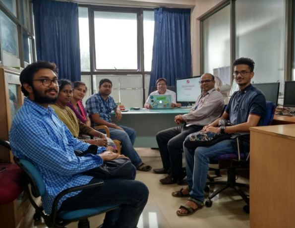 Research Group Meeting of KLE Technological University