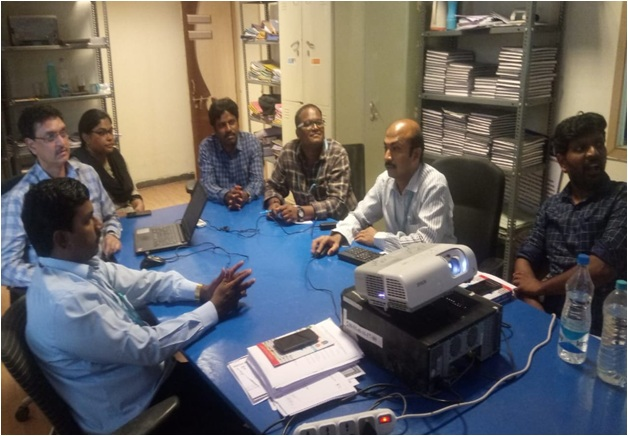 Research Group Meeting of Malla Reddy Engineering College