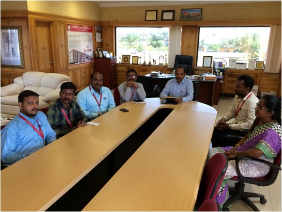 Research Group Meeting of M.A.M. College of Engineering and Technology
