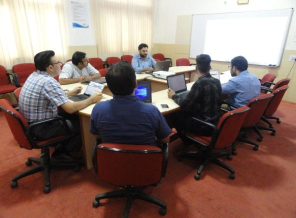 Research Group Meeting of Model Institute of 						Engineering & Technology
