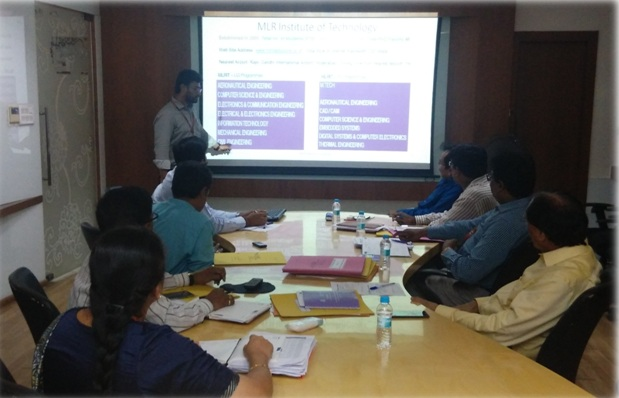 Research Group Meeting of MLR Institute of Technology