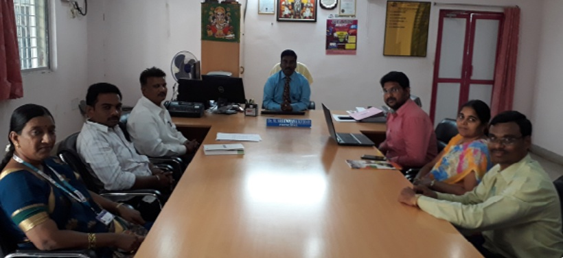 Research Group Meeting of Narasaraopeta Engineering College