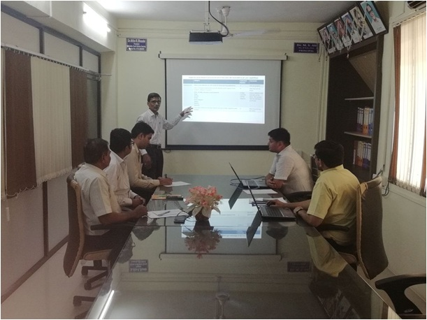 Research Group Meeting of Prof Ram Meghe College of Engineering & Management
