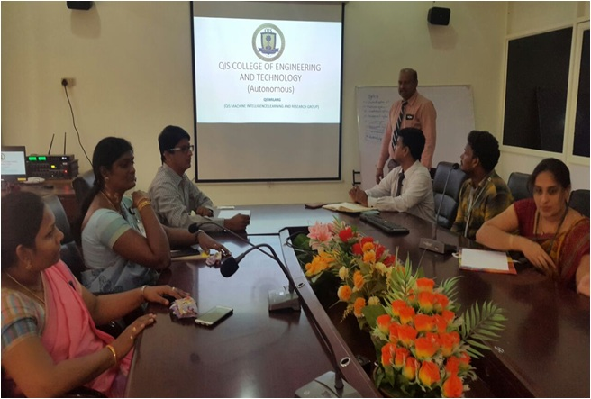 Research Group Meeting of QIS College of Engineering & Technology