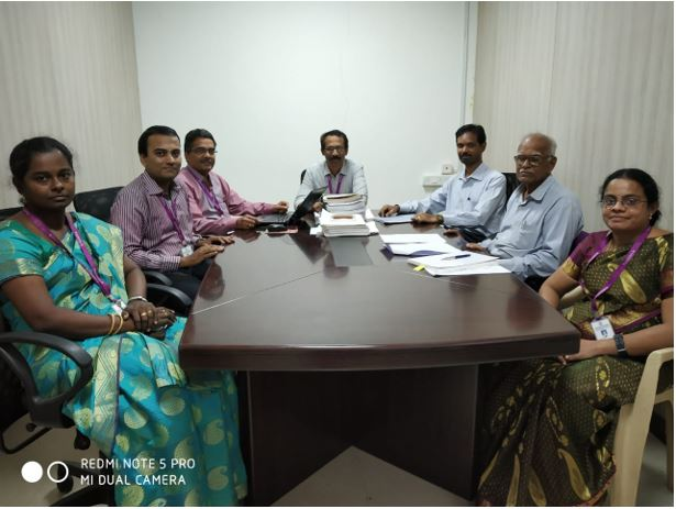 Research Group Meeting of Rajalakshmi Engineering College