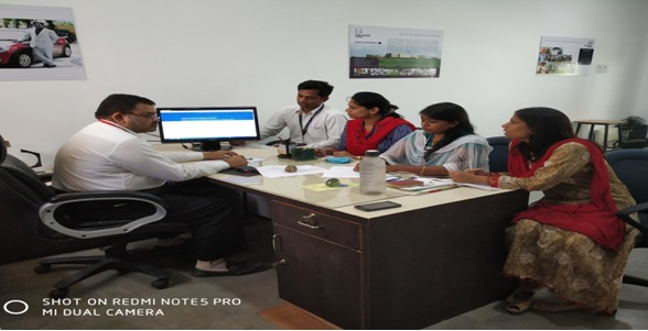 Research Group Meeting of Sagar Institute of Research & Tech. SAGE University