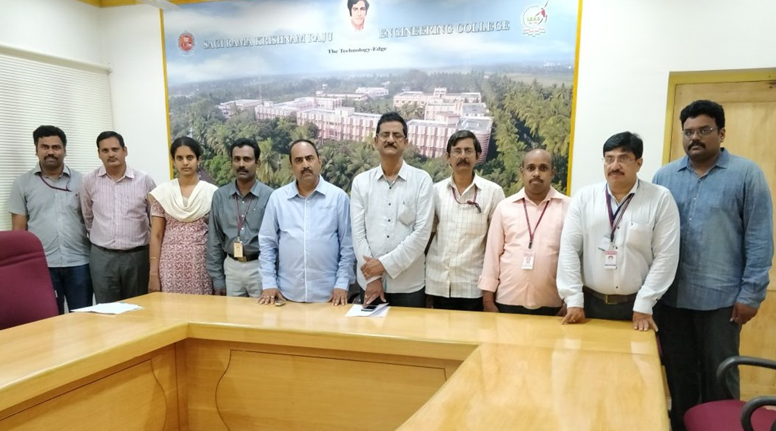 Research Group Meeting of Sagi Rama Krishnam Raju Engineering College