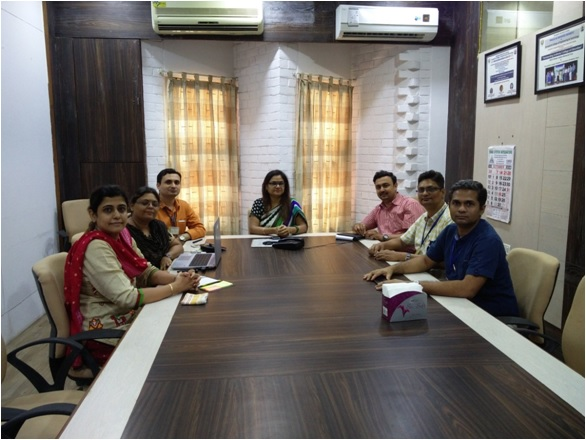 Research Group Meeting of Sarvajanik College of Engineering & Technology