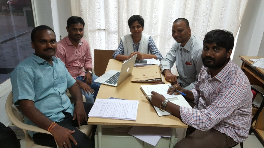 Research Group Meeting of Shri Vishnu Engineering College For Woman