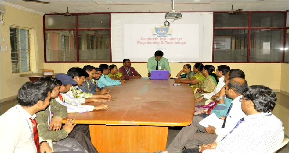 Research Group Meeting of Siddharth Institute of Engg. & Tech.