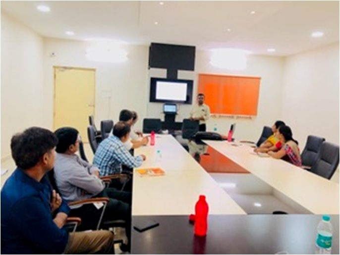 Research Group Meeting of Srinivasa Ramanujan Institute of Technology