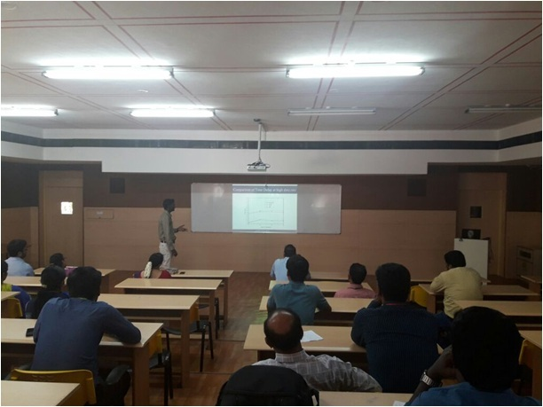 Research Group Meeting of Sri Venkateswara College of Engineering & Technology