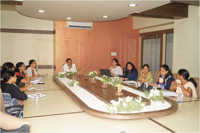 Research Group Meeting of Symbiosis Institute of Technology