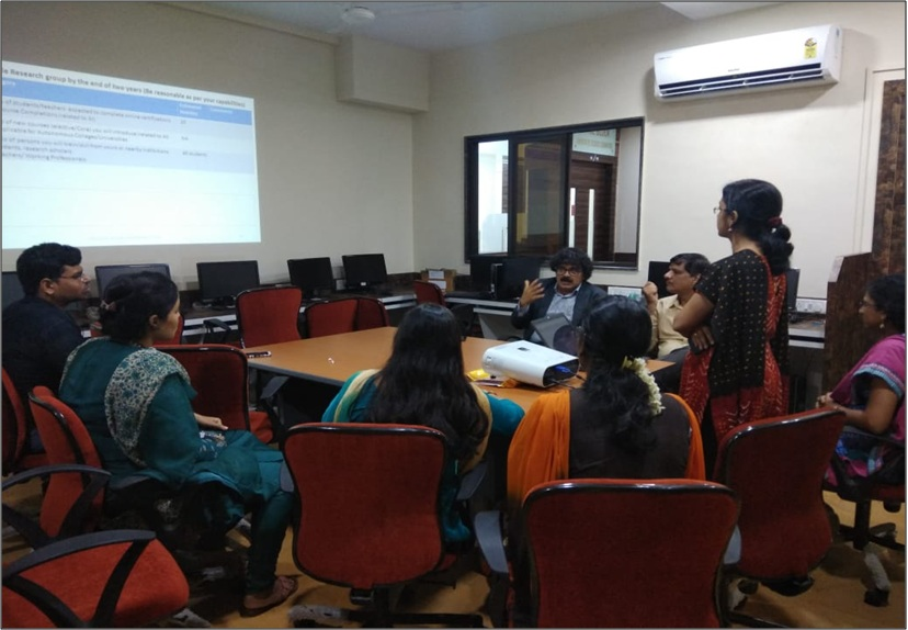 Research Group Meeting of Thadomal Shahani Engineering College