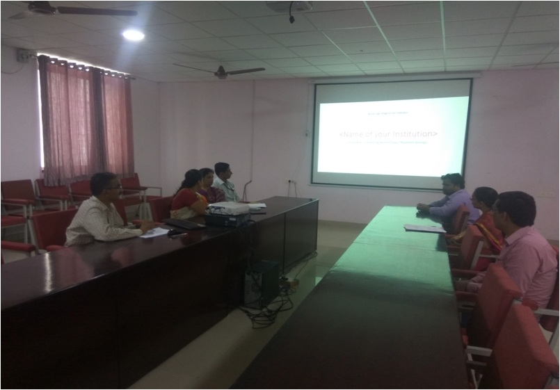 Research Group Meeting of KLS Gogte Institute of Technology