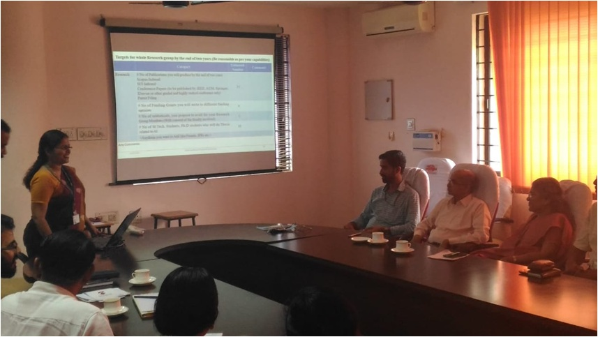 Research Group Meeting of Vidya Academy of Science & Technology