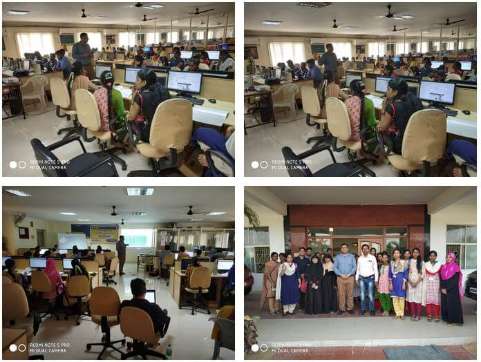 Gallery AI/ML Workshop at Vemu Institute of Technology - Chittur March 30 to March 31, 2019.