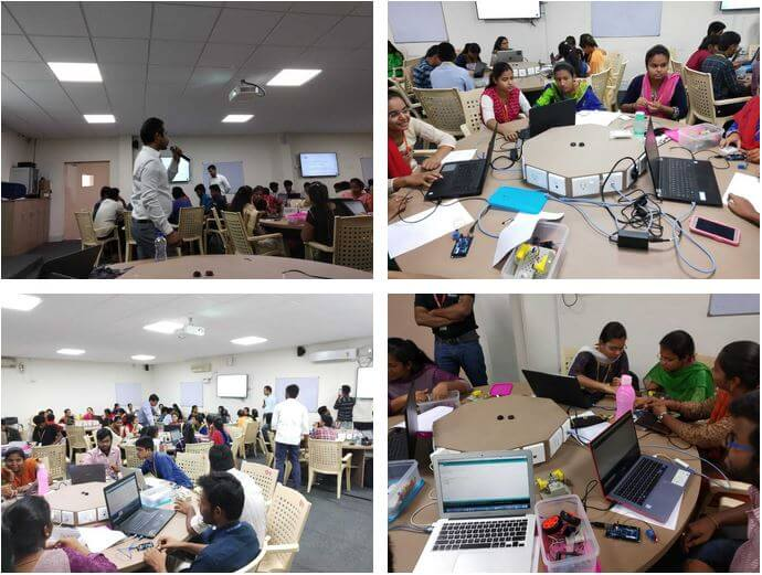 Gallery IoT Workshop at Madanpalle Institute of Technology and Sciences, Chittoor 							April 20, 2019 to April 21, 2019