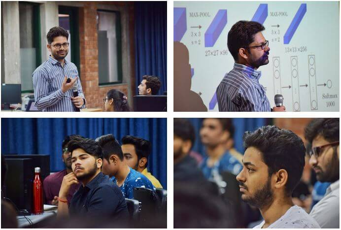 Gallery AI/ML Workshop at Pranveer Singh Institute Of Technology, Kanpur April 13 to 14, 2019.