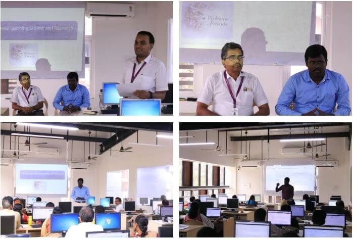 Gallery Machine Learning Workshop at Rajalakshmi Engineering College, Chennai Feb 16 to Feb 17, 2019.