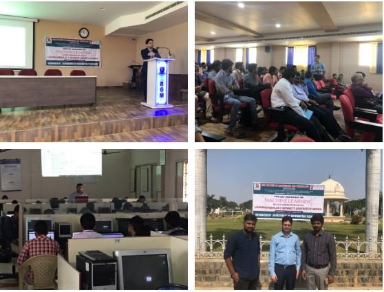 Gallery Machine Learning Workshop at Rajeev Gandhi Memorial College of Engg and Technology