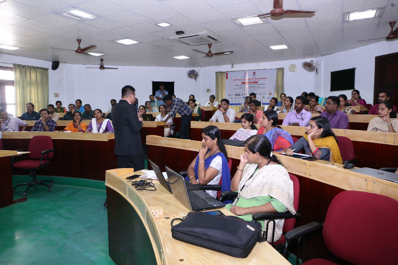 MOOCs Workshop at Saintgits Engineering College2